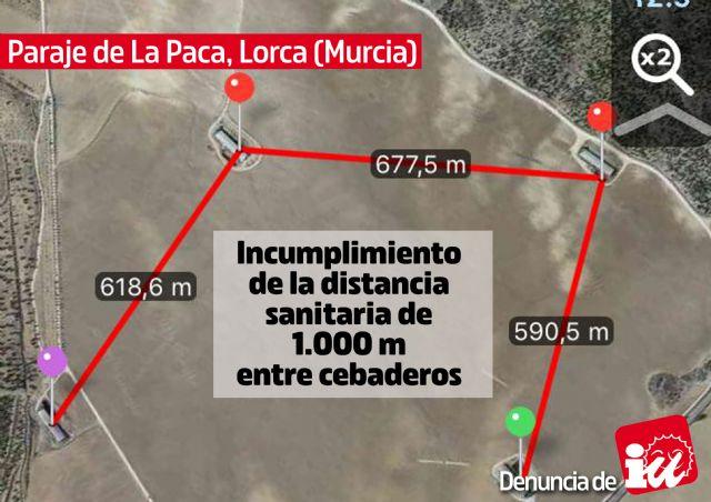 IU-Verdes muestra la otra cara de la ganadería intensiva en las Tierras Altas de Lorca - 1, Foto 1