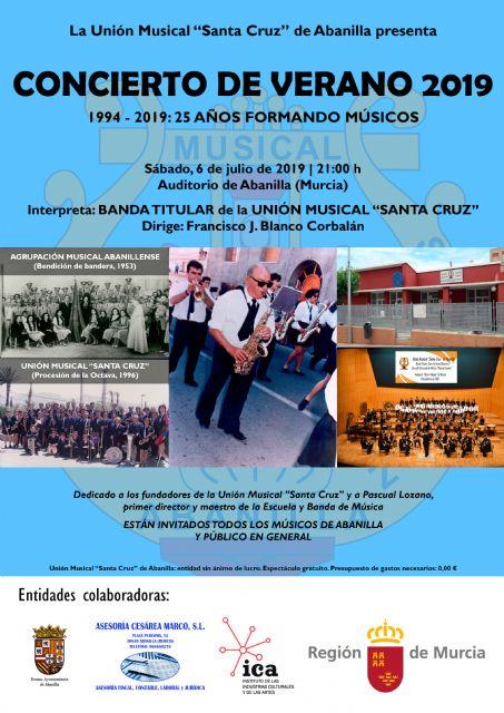 Concierto 25° aniversario de la Unión Musical Santa Cruz de Abanilla - 2, Foto 2
