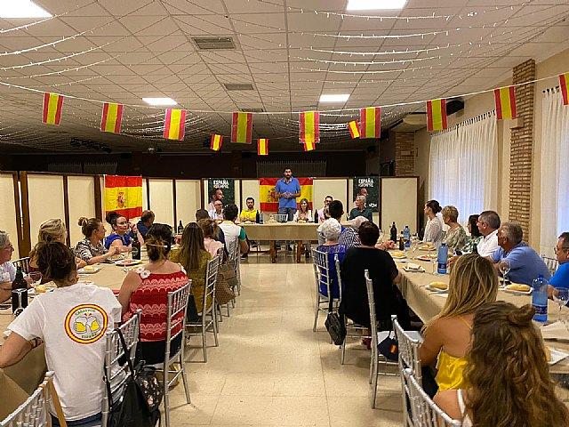 VOX Totana recibe la visita de Antelo, presidente provincial, acompañado del concejal Javier Clemente Sánchez y varios miembros del partido - 4, Foto 4
