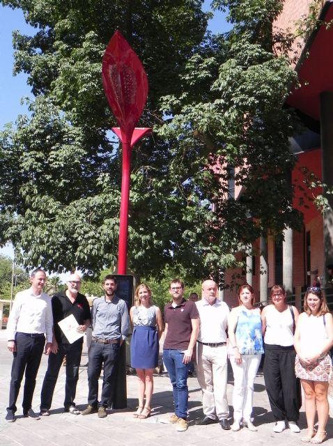 Molina de Segura dispone de dos farolas solares con carga de móviles e información interactiva del municipio - 1, Foto 1