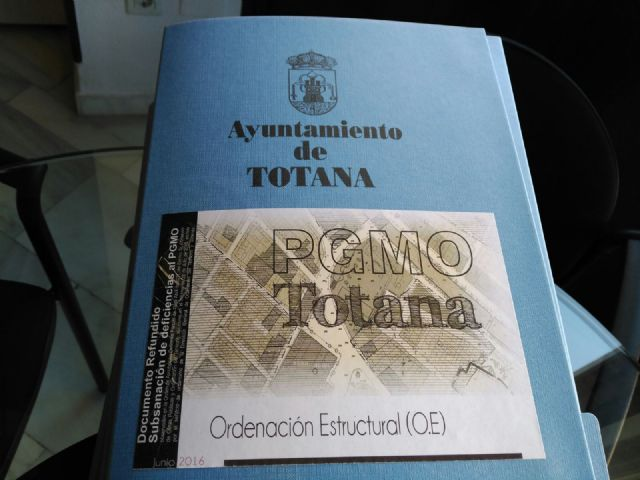 The land-use planning of Totana, adopted in plenary on 28 July, ready to send to the Ministry