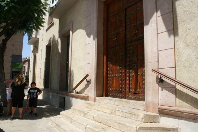 Sólo permanecerá abierto durante lo que resta del mes de agosto el acceso al edificio principal del Ayuntamiento por la calle Mayor Sevilla, Foto 1