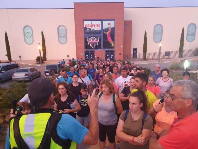 300 participantes en la II salida senderista nocturna organizada por el Ayuntamiento de Puerto Lumbreras - 3, Foto 3