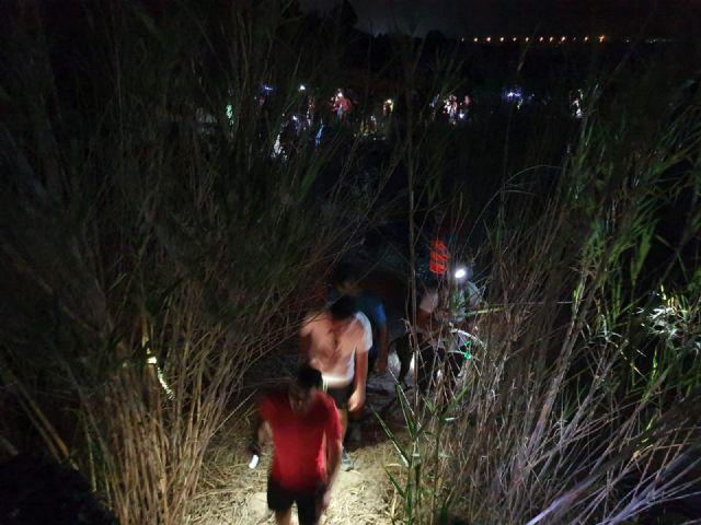 300 participantes en la II salida senderista nocturna organizada por el Ayuntamiento de Puerto Lumbreras - 5, Foto 5