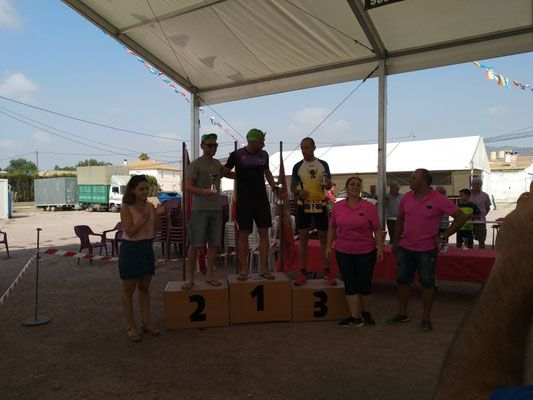 Intense week of the athletes of the CAT, who have participated in the league runs through Murcia, Carrera del Campillo and Ascent to Pico Veleta