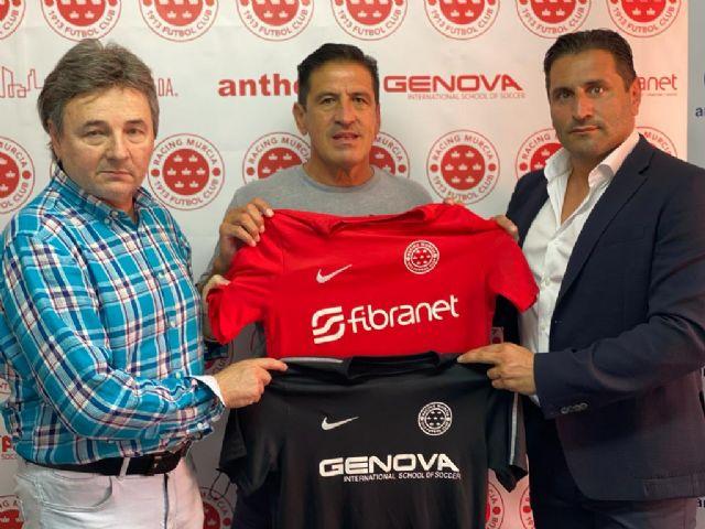 Daniel Toribio Aquino entrenador del Racing Murcia Sub-23 - 1, Foto 1