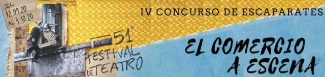 El Teatro Villa de Molina convoca el IV Concurso de Escaparates El Comercio a Escena para promocionar el 51 Festival de Teatro - 1, Foto 1