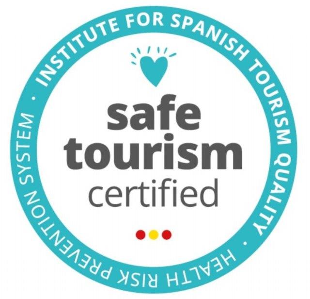 La Oficina de Turismo de Mula obtiene el 'Safe Tourism Certified' - 1, Foto 1
