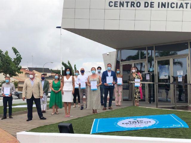 La Oficina de Turismo de Mazarrón recibe el certificado de calidad y seguridad frente a la COVID-19, Foto 1