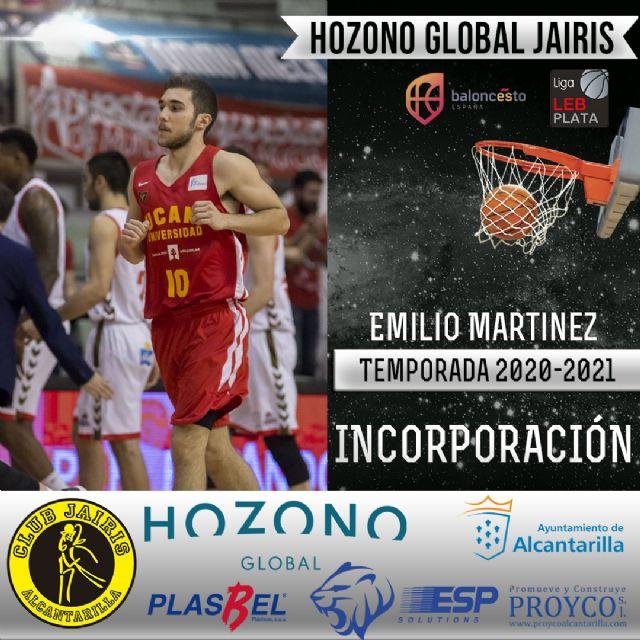 Emilio Martínez, nueva incorporación del Hozono Global Jairis de LEB Plata - 1, Foto 1