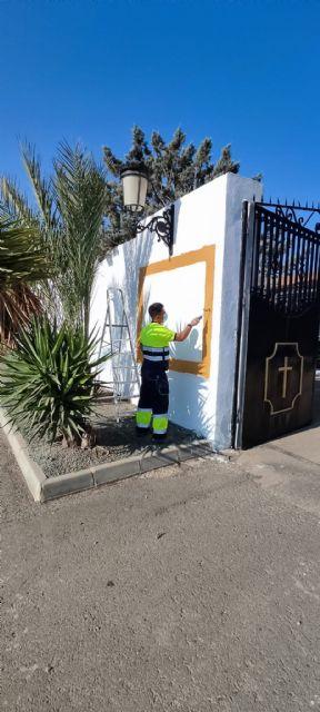 El Ayuntamiento de Puerto Lumbreras mejora los servicios del cementerio municipal de San Damián tras la nueva adjudicación - 4, Foto 4