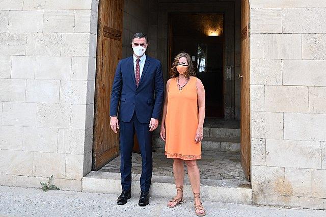 Pedro Sánchez se reúne con la presidenta de Illes Baleares, Francina Armengol - 2, Foto 2