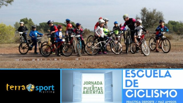 The Terra Sport Cycling School organizes an open day, which will take place next Saturday, September 9 - 1