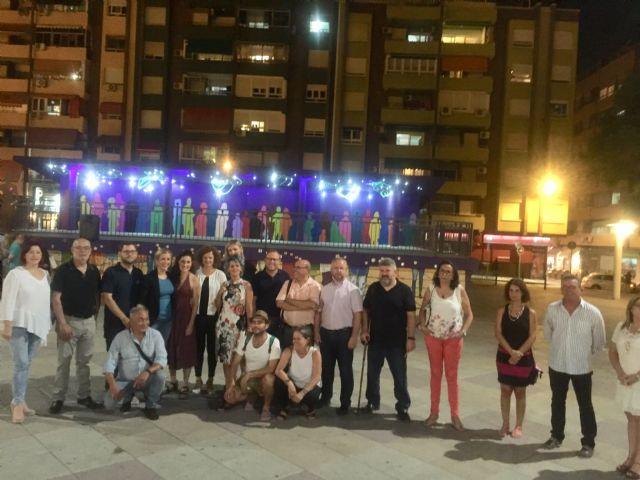 Molina de Segura rinde un homenaje a las mujeres trabajadoras de las fábricas con la obra artística Estrellas en Conserva - 2, Foto 2