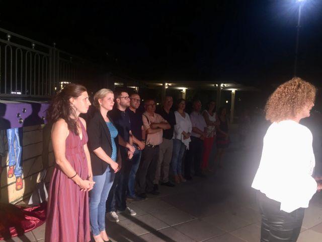 Molina de Segura rinde un homenaje a las mujeres trabajadoras de las fábricas con la obra artística Estrellas en Conserva - 3, Foto 3