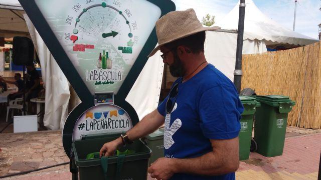 Cehegín acoge durante sus Fiestas Patronales la campaña de Ecovidrio La Peña Recicla 2019 - 2, Foto 2