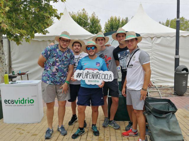 Cehegín acoge durante sus Fiestas Patronales la campaña de Ecovidrio La Peña Recicla 2019 - 3, Foto 3