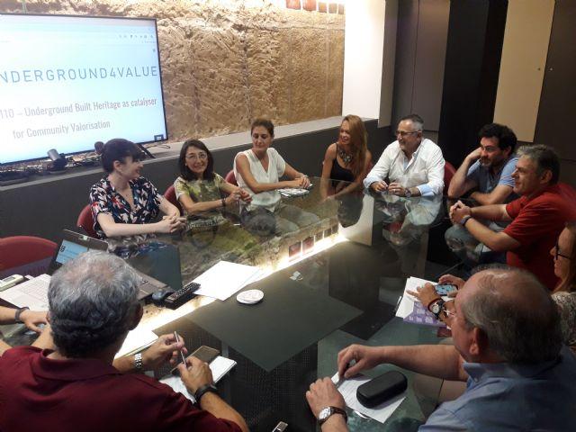 La UMU potencia la creación de un living lab orientado a dinamizar el turismo subterráneo de La Unión - 2, Foto 2