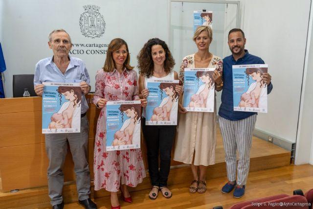 15 expertos españoles hablarán en Cartagena sobre lactancia materna en su XVI Congreso Nacional - 1, Foto 1