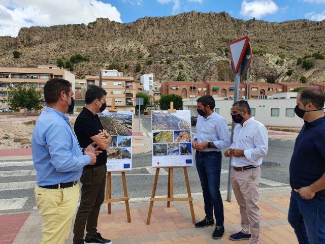 La Comunidad invierte 613.000 euros en obras de consolidación de laderas en Blanca para evitar la caída de grandes rocas - 1, Foto 1