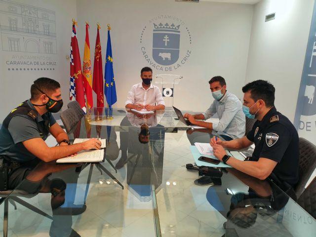 El Ayuntamiento de Caravaca celebra una Mesa de Coordinación Policial para velar por la salud pública, garantizando el cumplimiento de la Fase 1 Flexibilizada en Archivel - 1, Foto 1