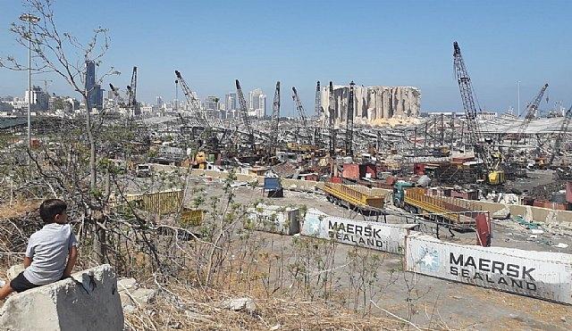 La onda expansiva del 4 de agosto ha disparado el precio de los alimentos en Líbano - 1, Foto 1