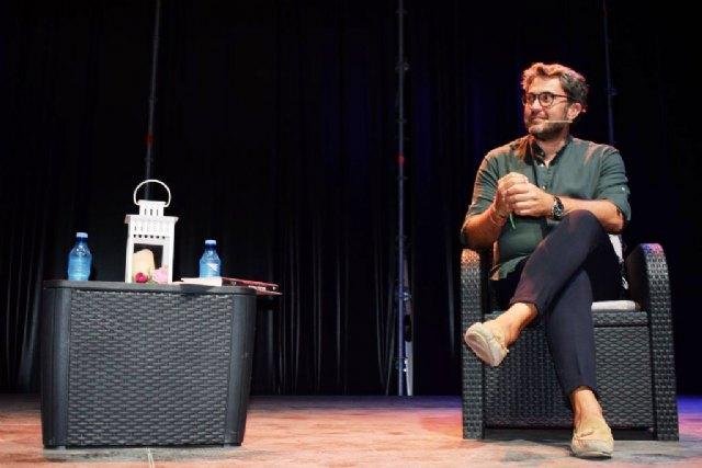 Máximo Huerta clausura el ciclo literario