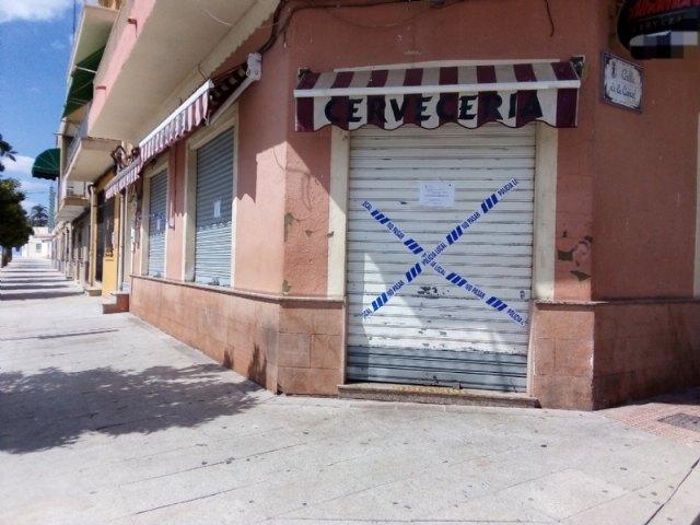La Polic�a Local suspende la actividad y cierra dos establecimientos hosteleros de Totana por ser susceptibles de producir un riesgo o daño grave para la salud p�blica, Foto 3