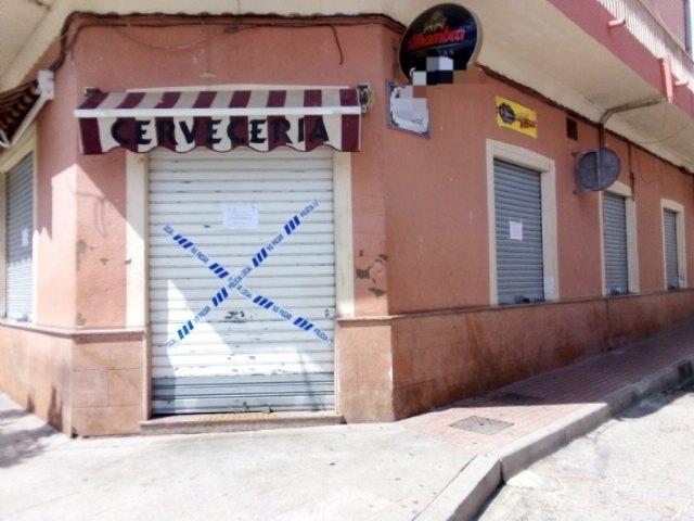 La Polic�a Local suspende la actividad y cierra dos establecimientos hosteleros de Totana por ser susceptibles de producir un riesgo o daño grave para la salud p�blica, Foto 4