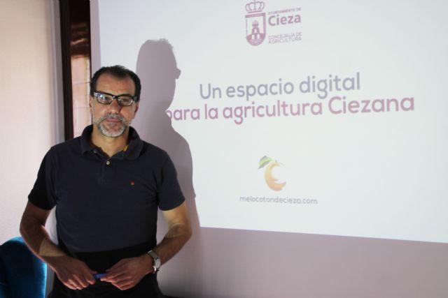El sector agrícola de Cieza estrena web municipal - 1, Foto 1
