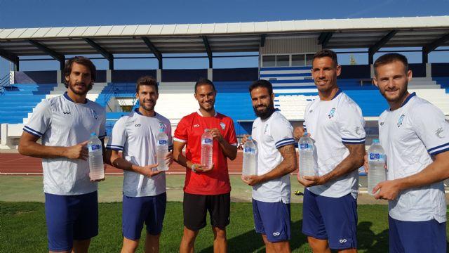 Aquadeus promueve el deporte con el patrocinio del Fútbol Club Jumilla, Foto 1