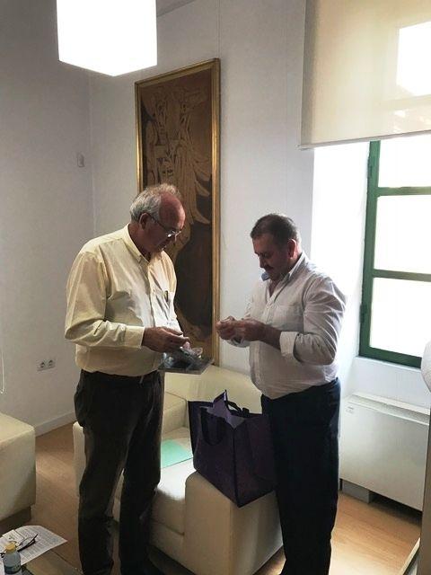 El alcalde se reúne con el presidente de la Fundación Savia por el Compromiso y los Valores, Foto 6