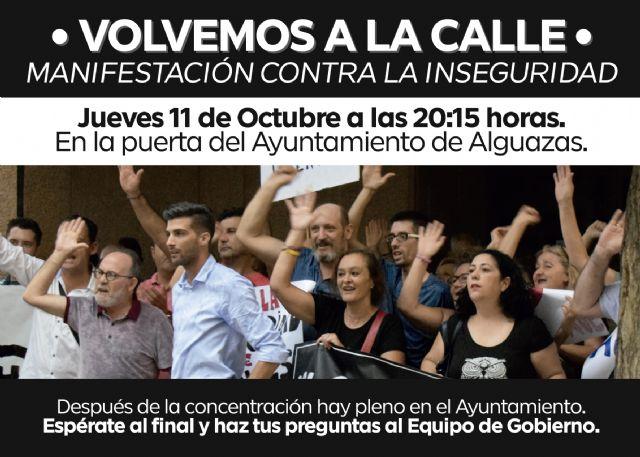 Los vecinos de Alguazas convocan una nueva manifestación para el próximo jueves coincidiendo con el pleno municipal - 4, Foto 4