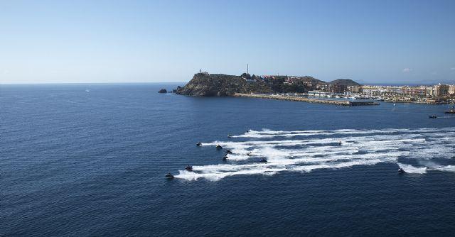 Más de un centenar de pilotos estará en Puerto de Mazarrón para disputar la copa del rey de motonáutica, Foto 1