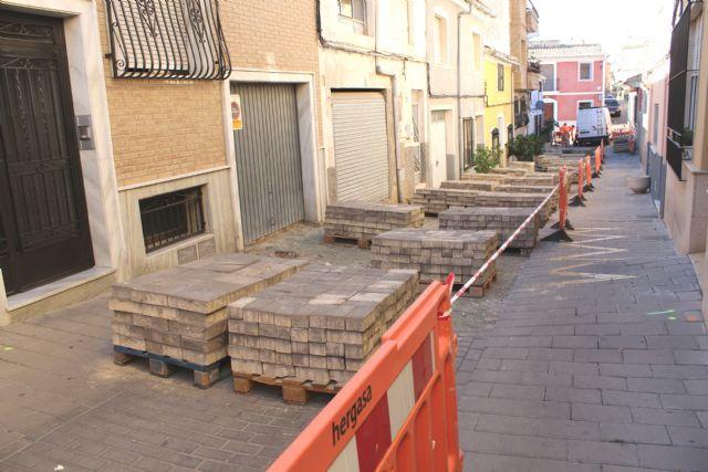 Las obras de renovaci�n del tramo de red de saneamiento y abastecimiento de la calle San Ram�n se prolongar�n durante los pr�ximos dos meses, Foto 2