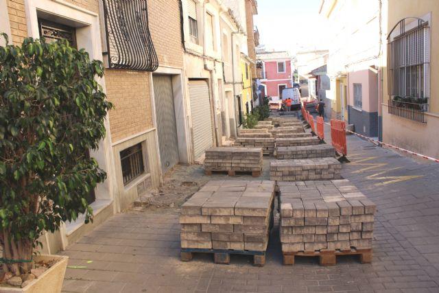 Las obras de renovaci�n del tramo de red de saneamiento y abastecimiento de la calle San Ram�n se prolongar�n durante los pr�ximos dos meses, Foto 4