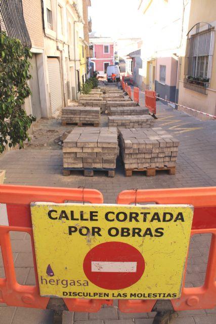 Las obras de renovaci�n del tramo de red de saneamiento y abastecimiento de la calle San Ram�n se prolongar�n durante los pr�ximos dos meses, Foto 6