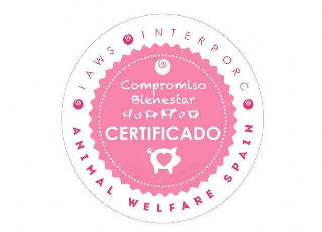 eLPOZO ALIMENTACIÓN, primera empresa cárnica en obtener el sello de Bienestar Animal de Interporc, Foto 1