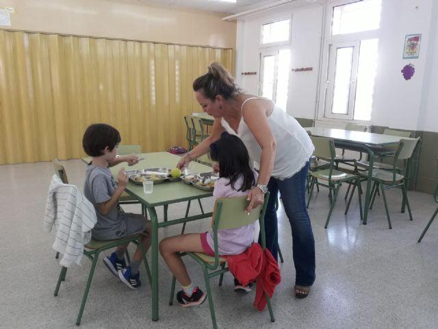San Pedro del Pinatar refuerza el servicio de comedor escolar - 1, Foto 1