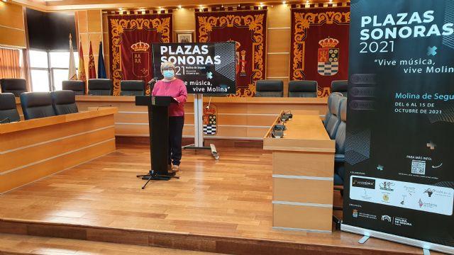 PLAZAS SONORAS 2021, Vive música, vive Molina, nueva propuesta de la Concejalía de Cultura para este mes de octubre - 3, Foto 3