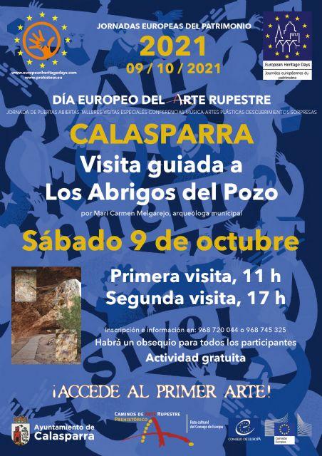 El Ayuntamiento de Calasparra organizará dos visitas guiadas gratuitas a LOS ABRIGOS DEL POZO con motivo del día europeo del arte rupestre - 1, Foto 1