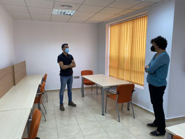 El Ayuntamiento inaugura la nueva sala de estudio 24 horas del Barrio Francés; la tercera de Puerto Lumbreras - 1, Foto 1