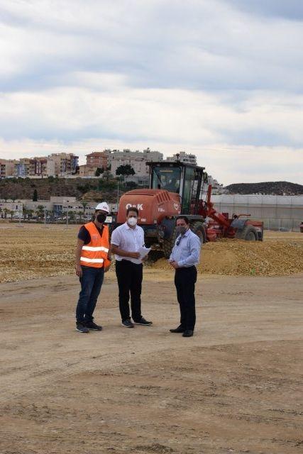 Han dado comienzo a las obras de ampliación del cementerio del Puerto de Mazarrón - 1, Foto 1