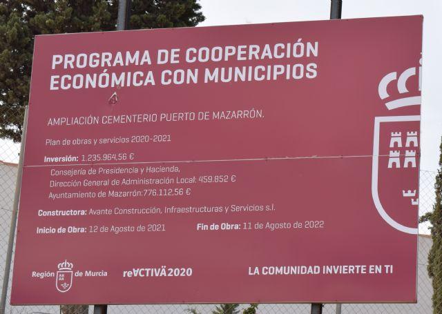 Han dado comienzo a las obras de ampliación del cementerio del Puerto de Mazarrón - 2, Foto 2