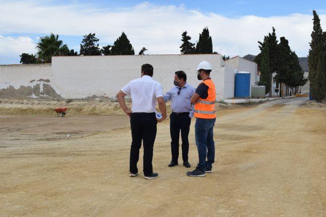 Han dado comienzo a las obras de ampliación del cementerio del Puerto de Mazarrón - 3, Foto 3
