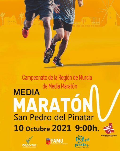 San Pedro del Pinatar ya prepara su cita con la RCH y el Campeonato Regional de Media Maratón - 1, Foto 1