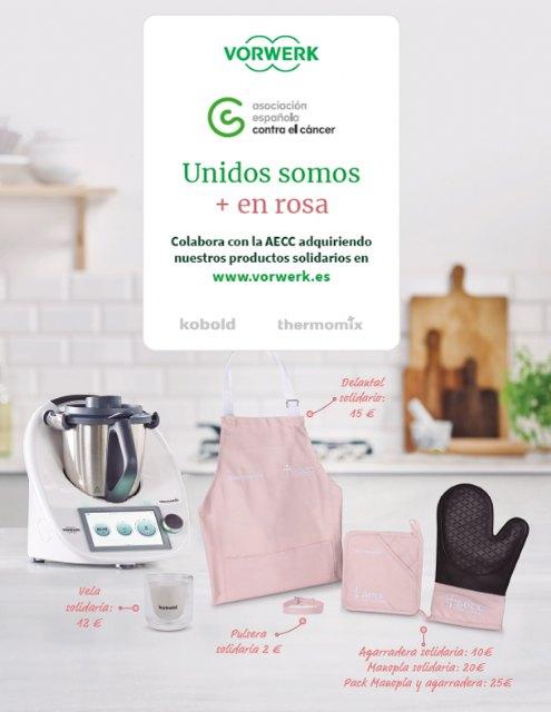 Unidos somos + en rosa, la nueva campaña de Thermomix® y Kobold en su lucha contra el cáncer de mama - 1, Foto 1