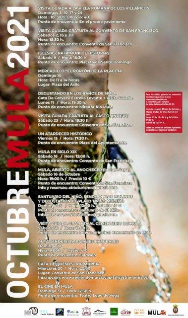 Visitas guiadas, degustaciones, senderismo y artesanía son las propuestas de Turismo para el mes de octubre - 1, Foto 1