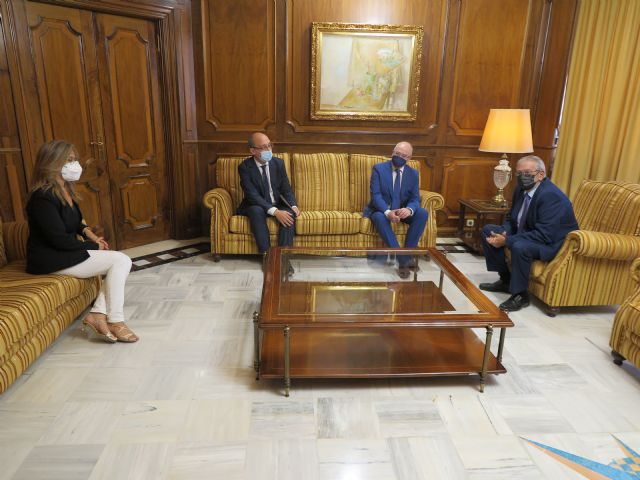 Ribera Hospital de Molina traslada al presidente de la Asamblea de Murcia su proyecto y compromiso con la región - 1, Foto 1