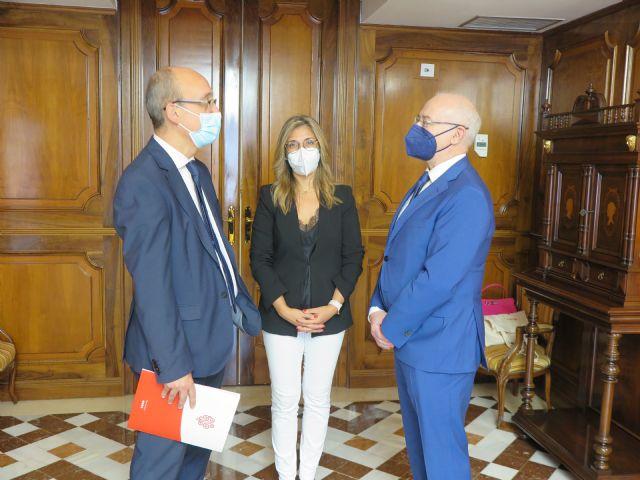 Ribera Hospital de Molina traslada al presidente de la Asamblea de Murcia su proyecto y compromiso con la región - 2, Foto 2